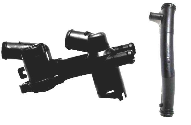 Termostat Komple CBZA - CBZB - CBZC Motor -  Golf 6 - Jetta - Polo Hb - A3