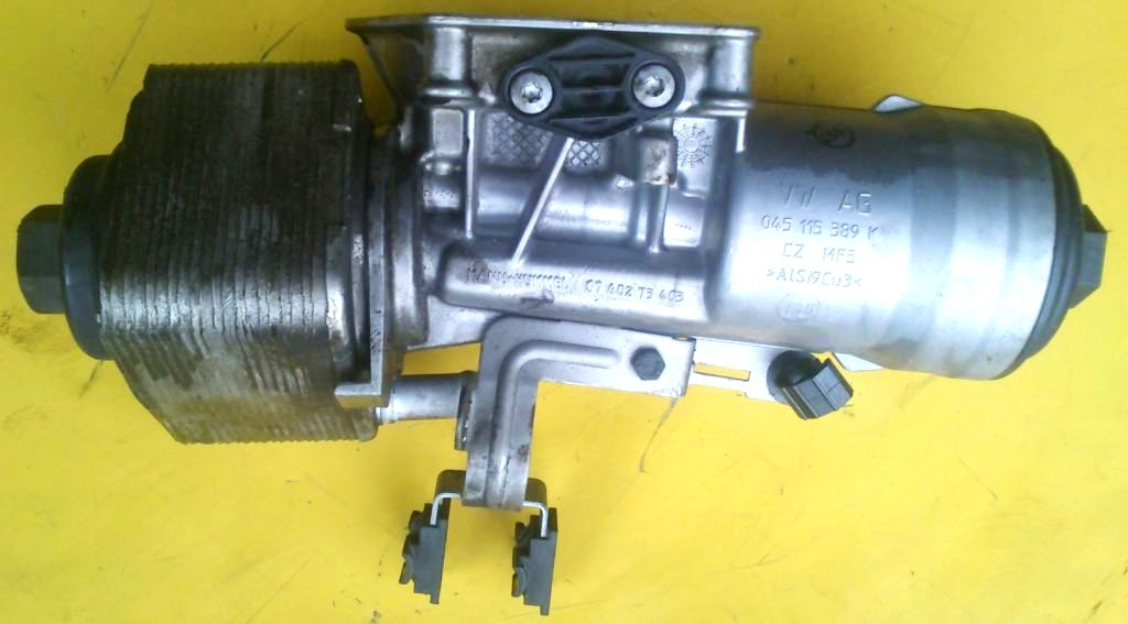 Motor Yağ Filtre Kütüğü Komple Kapak Üzerinde - Caddy - Passat - Transporter - T5