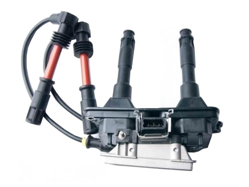 Ateşleme Bobini + Buji Kablo Set -Komple  - Passat 1996 > 2000 1.8 ADR-APT