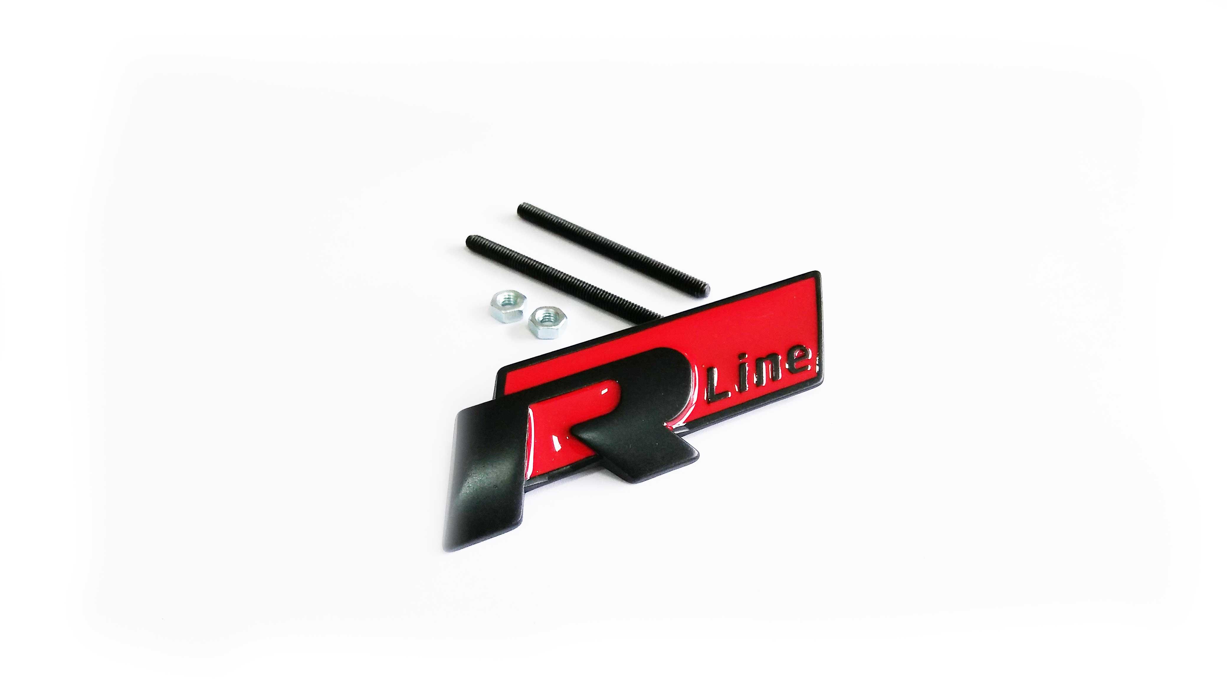 R Line Panjur Arması Kırmızı - Audi Modelleri