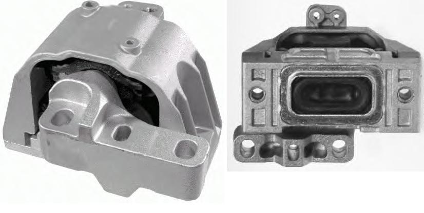 Motor Kulağı Sağ -  A3 - Bora - Golf 4