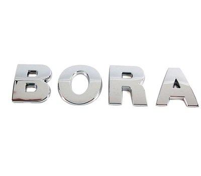 BORA yazısı- Volkswagen Bora