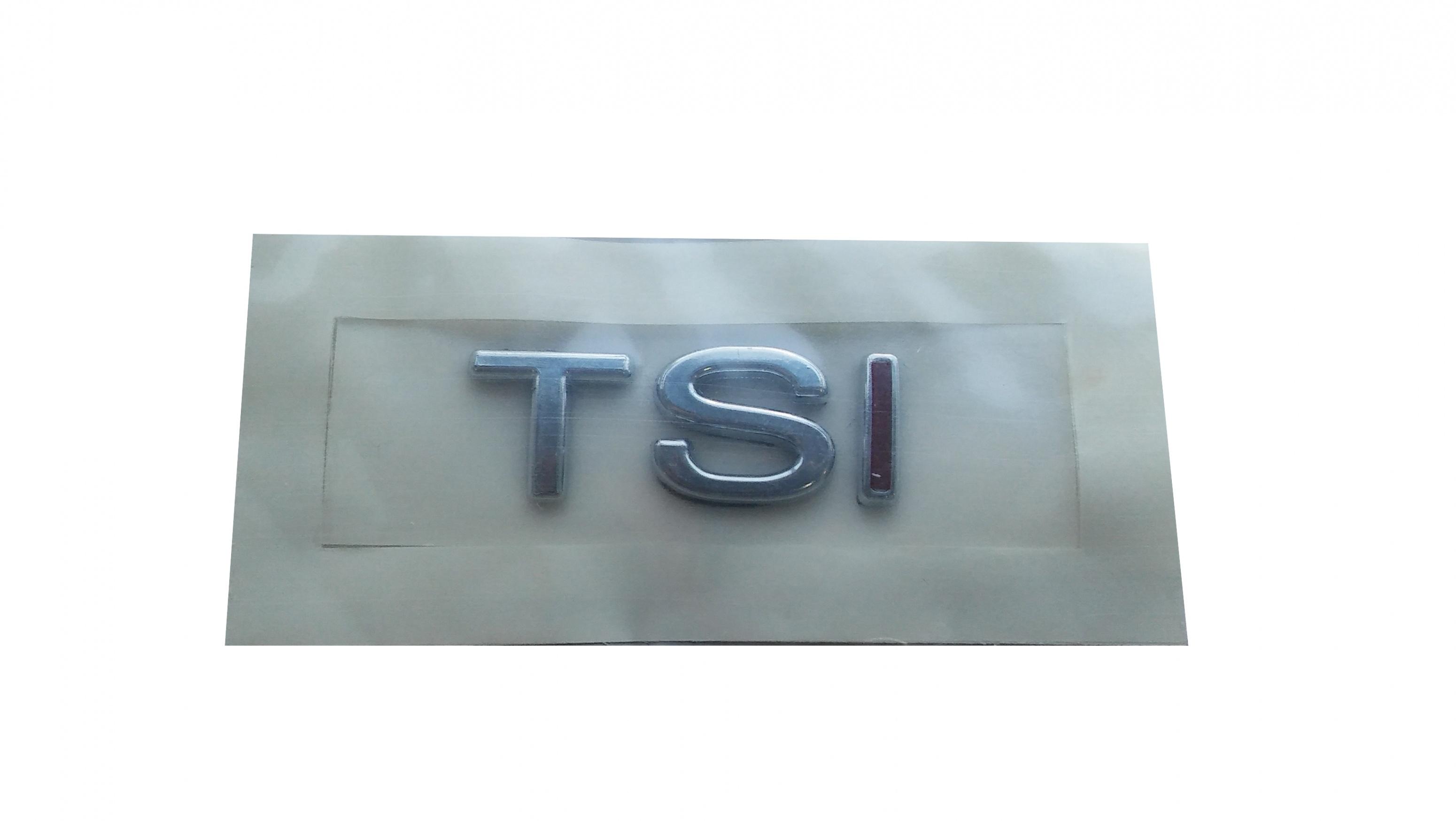 TSI Yazı Küçük Tek Kırmızı - Passat - Jetta