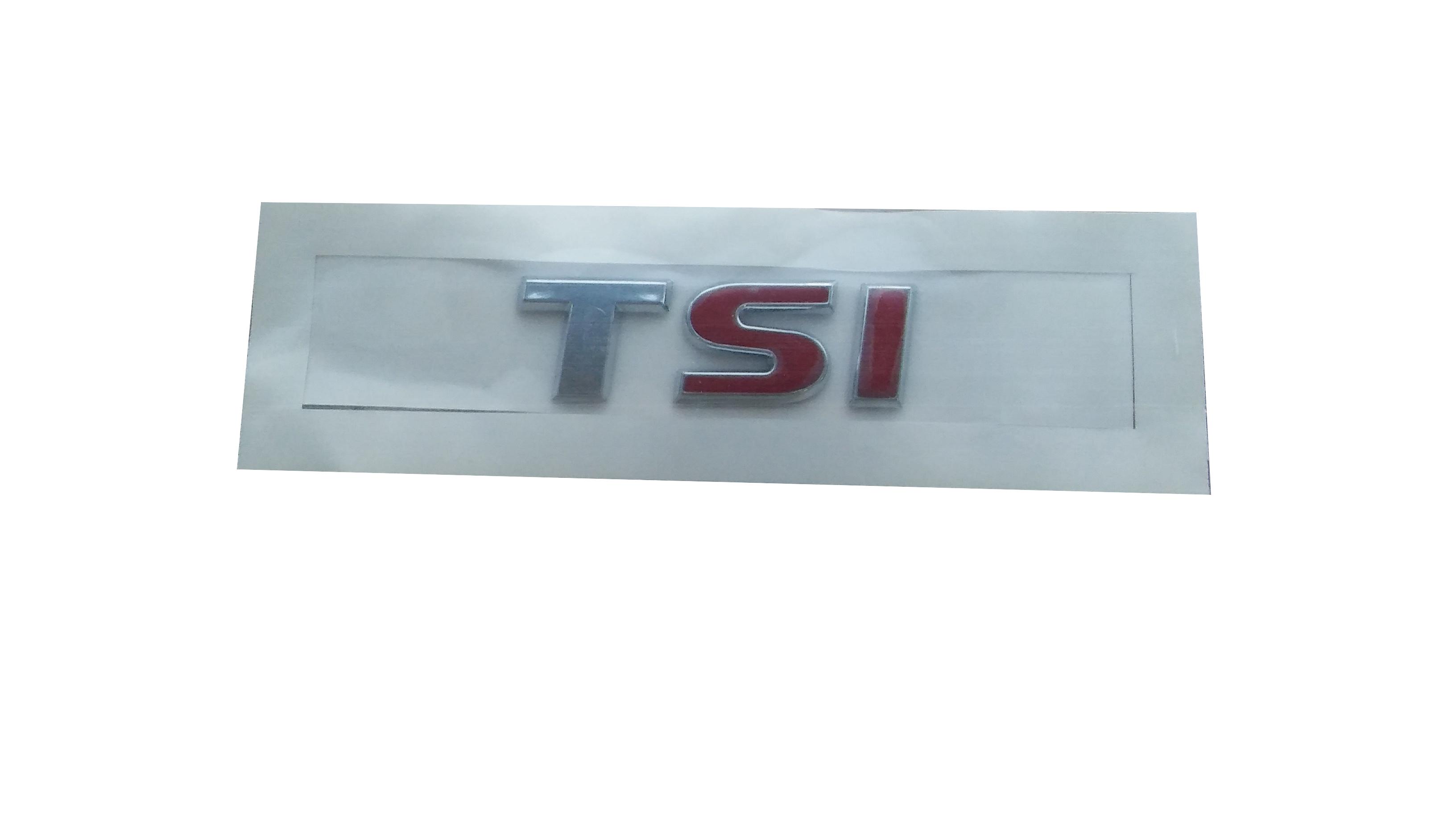 TSI Yazı Çift Kırmızı - Jetta 2010>>Üzeri