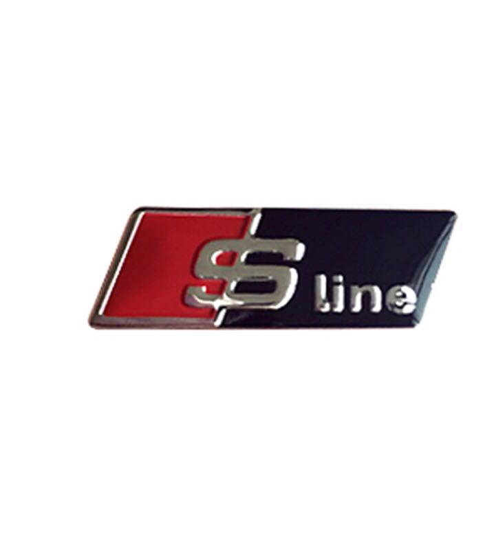 Direksiyon  S Line Yazısı - Audi A3 , A4 , A5 , A6