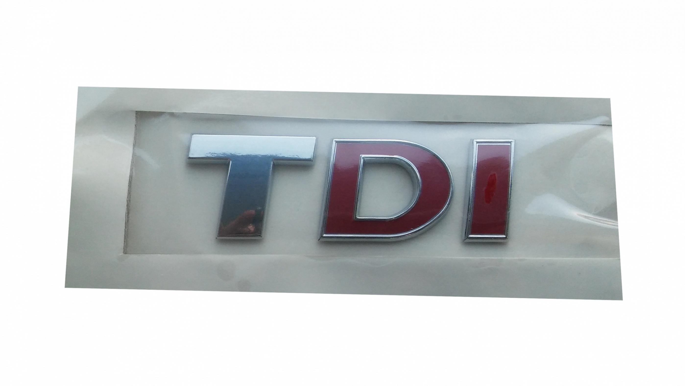 TDI Yazı Büyük Çift Kırmızı - Crafter