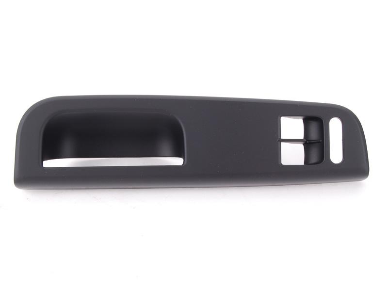 İkili Cam Anahtar Çerçevesi  Siyah - Volkswagen - Golf 4