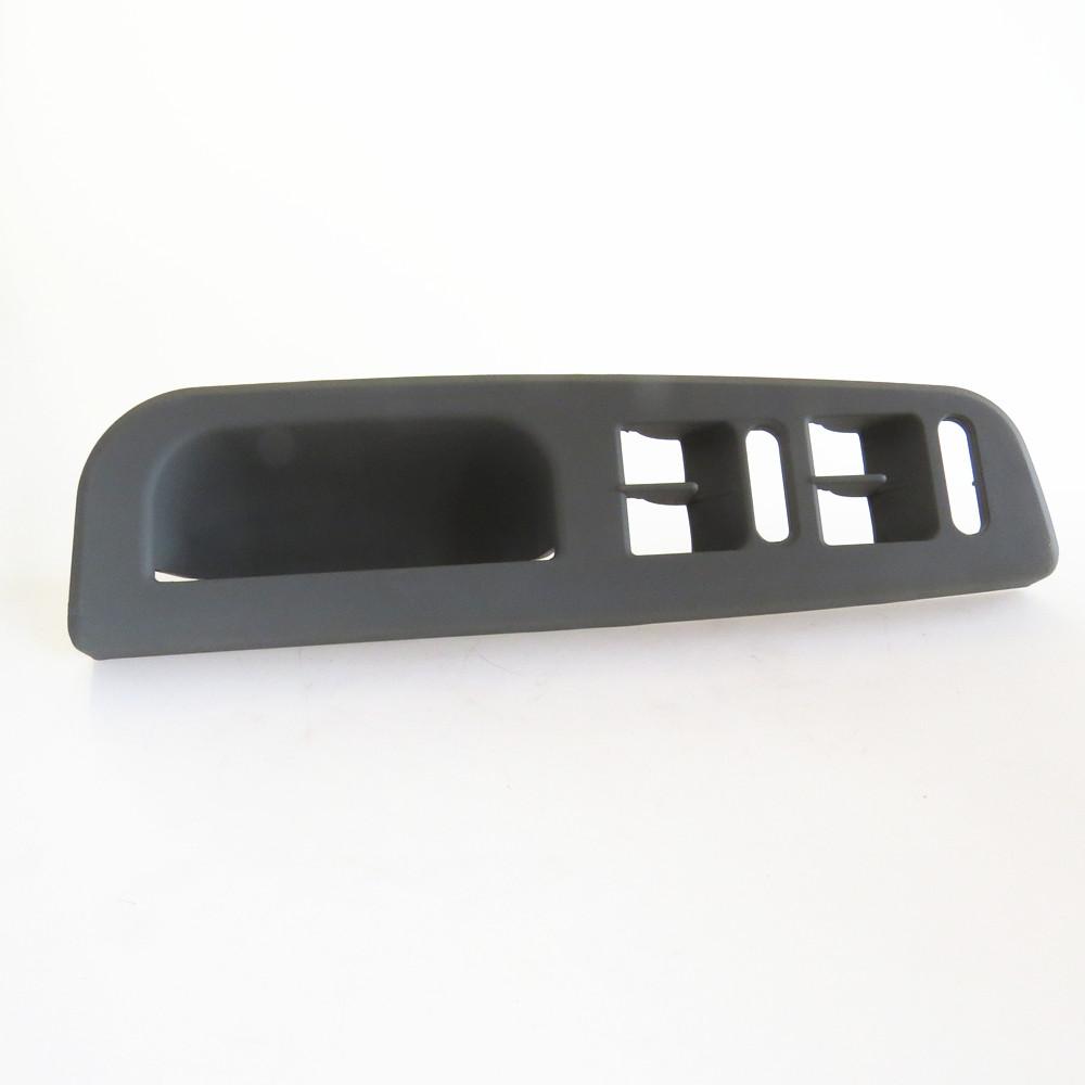Dörtlü Cam Anahtarı Çerçevesi Gri - Golf 4 - Bora - Passat