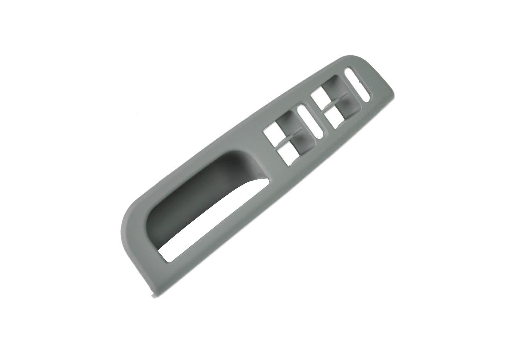 Dörtlü Cam Düğme Çerçevesi Gri - Golf 4 - Bora