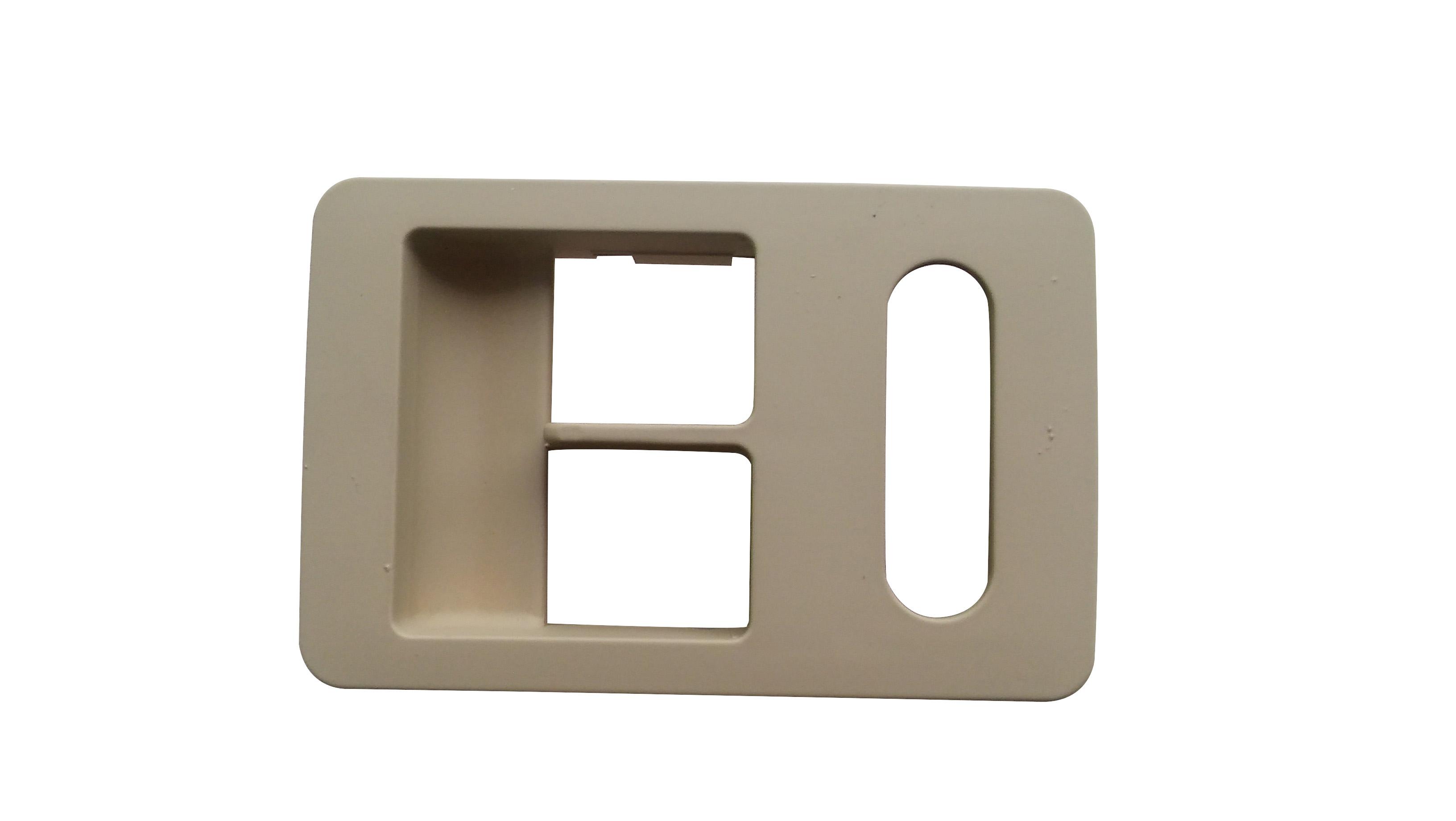 Cam Düğme Çerçevesi Sol Bej - Volkswagen - Polo HB
