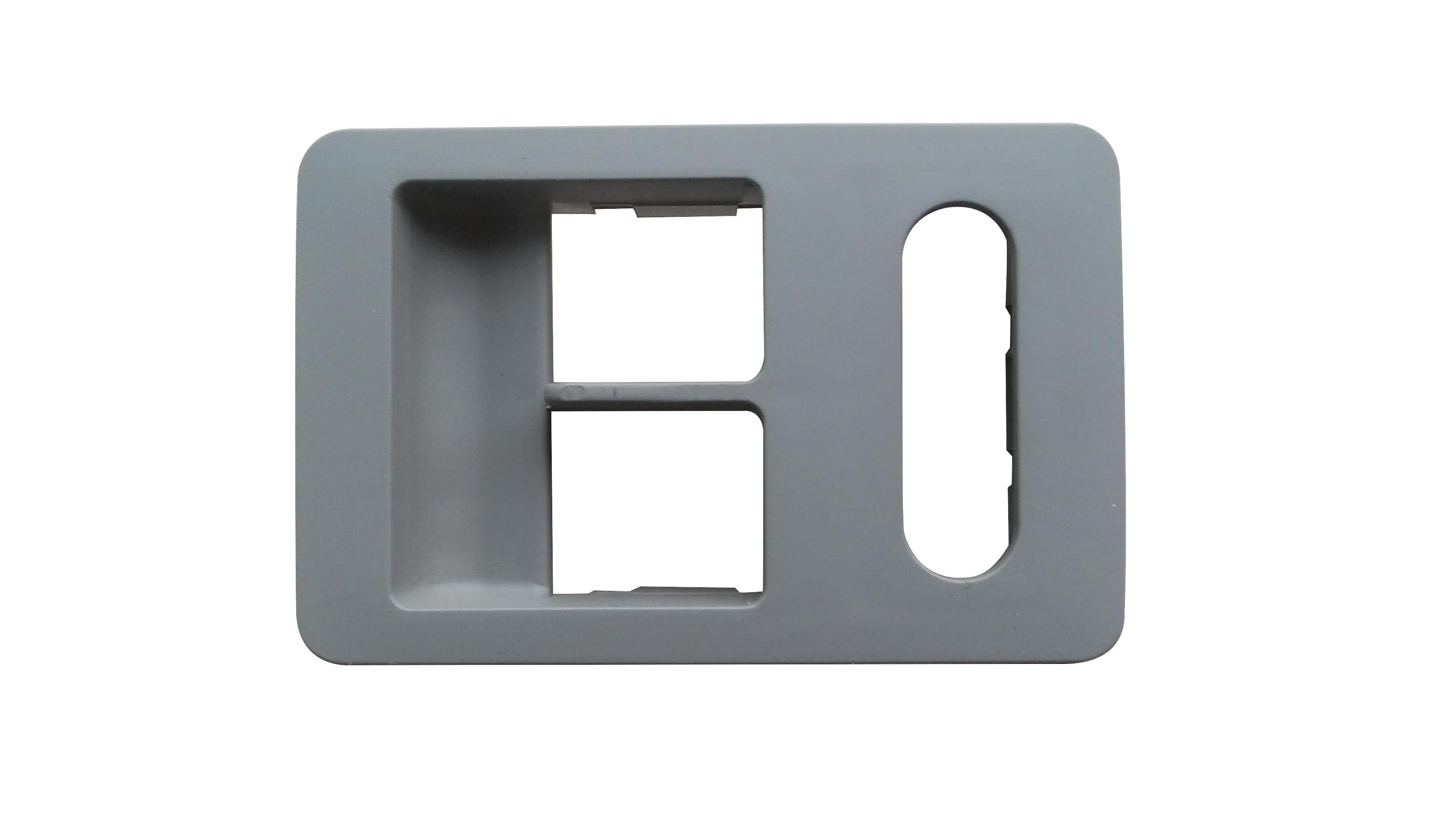 Cam Düğme Çerçevesi Sol Gri - Polo HB