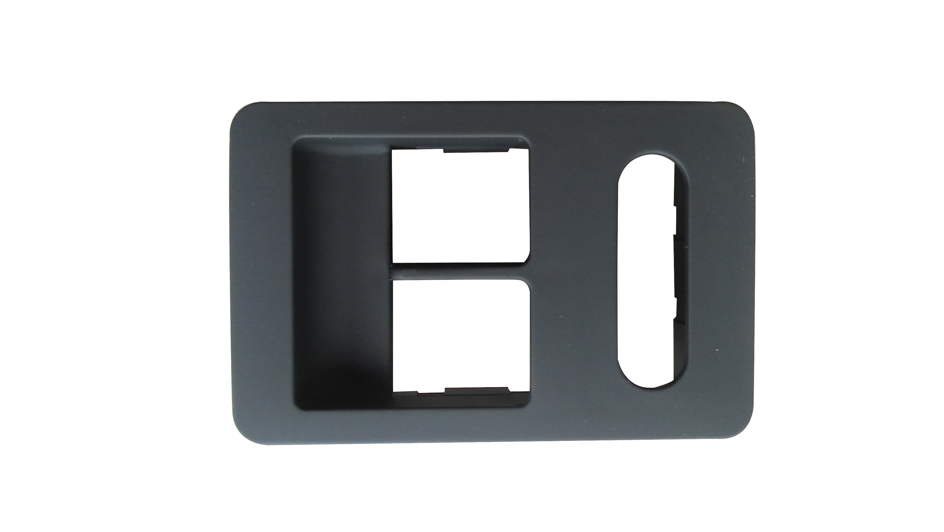 Cam Düğme Çerçevesi Sol Siyah - Volkswagen - Polo HB