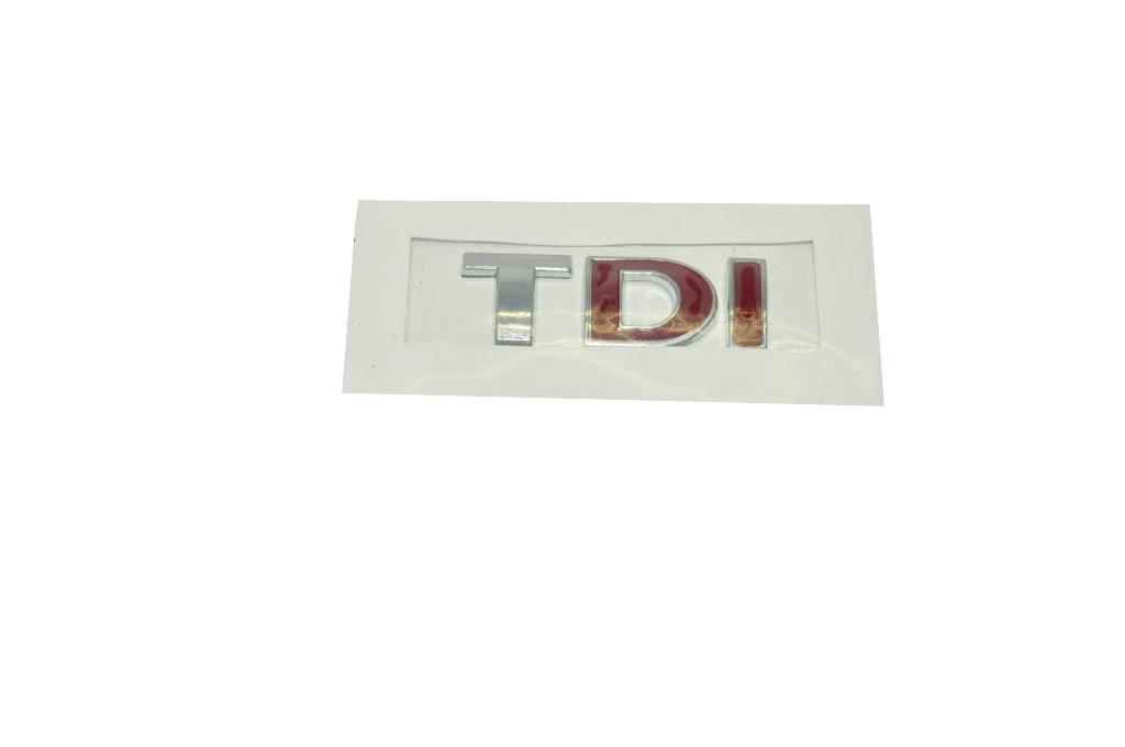 TDI Yazı - Çift Kırmızı
