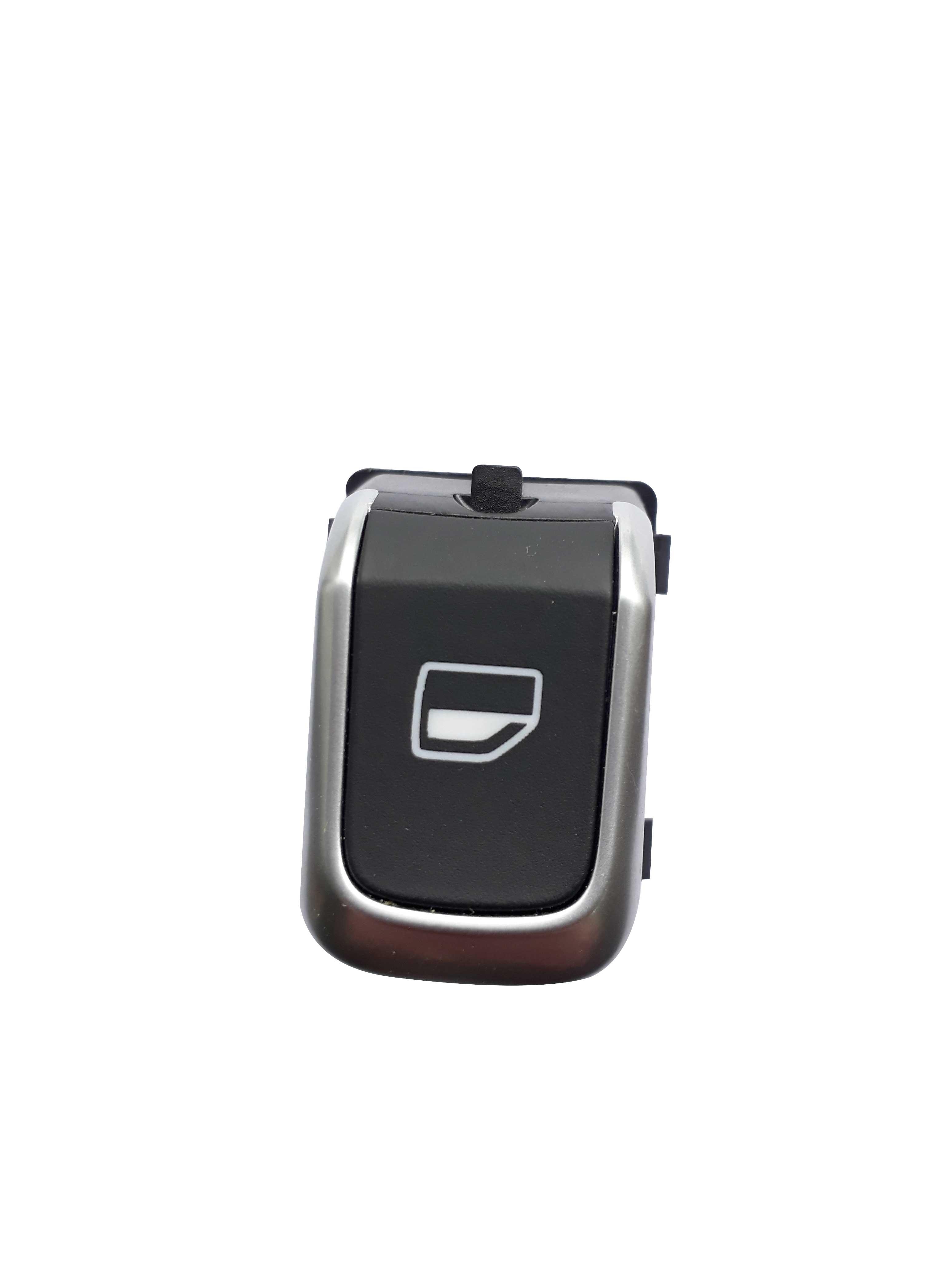 Tekli Cam Düğmesi Nikelajlı - Audi A1 - A6 - A8