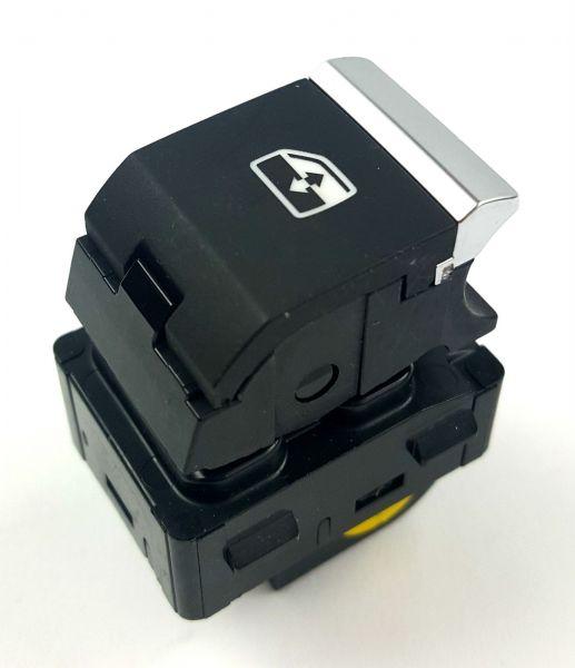 Tekli Cam Düğmesi Nikelajlı - Audi A4 - Q5 - Q7