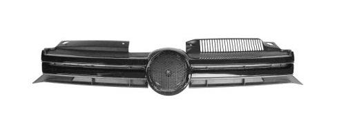 Ön Panjur Siyah Armasız  - Volkswagen -  Golf 6