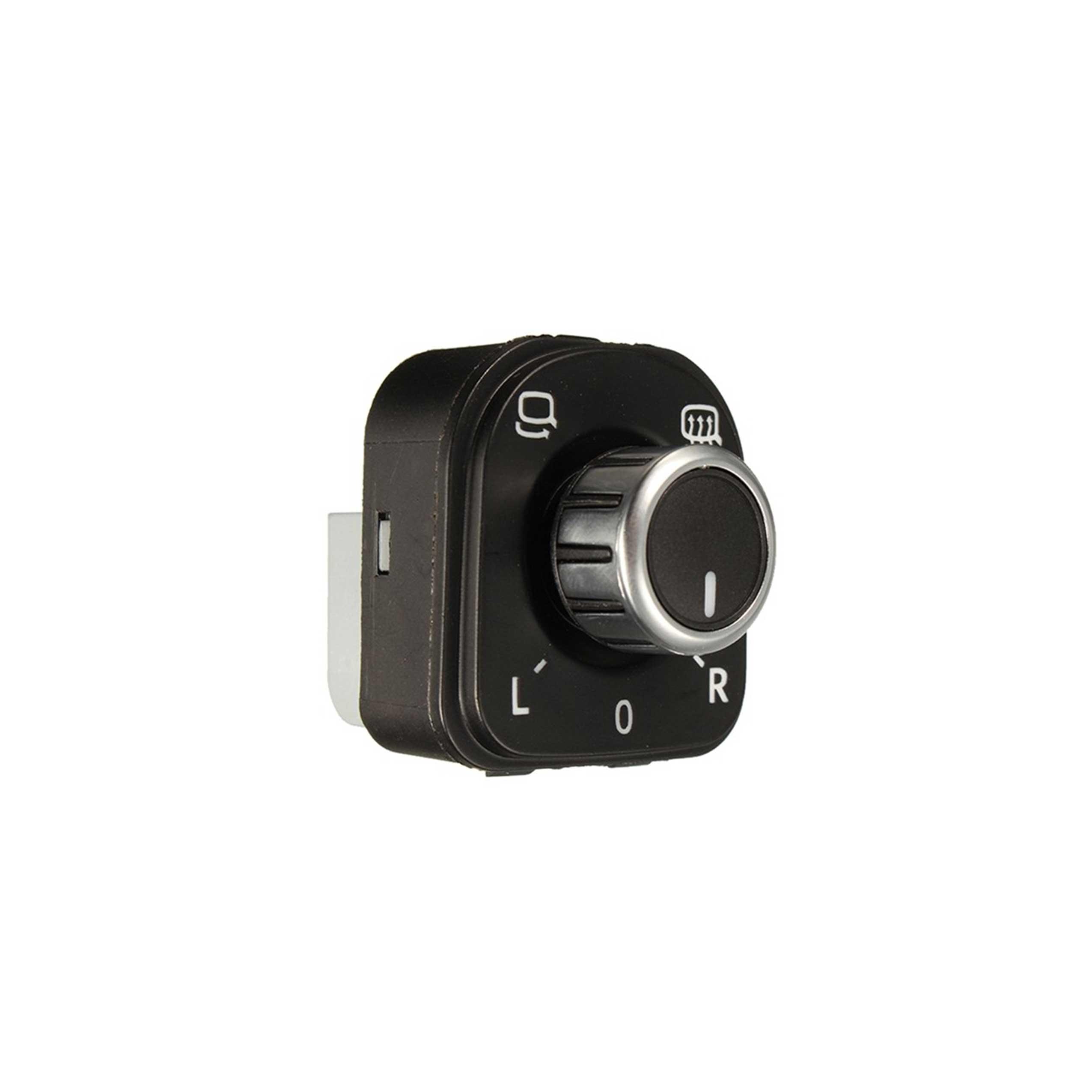 Ayna Ayar Düğmesi Nikelajlı Katlanabilir Ayna - Golf6 - Passat - Tiguan