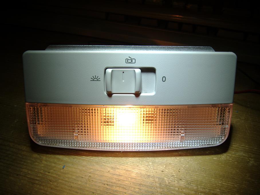 Tavan Lambası Gri  -  Polo Hb - Transporter - T5