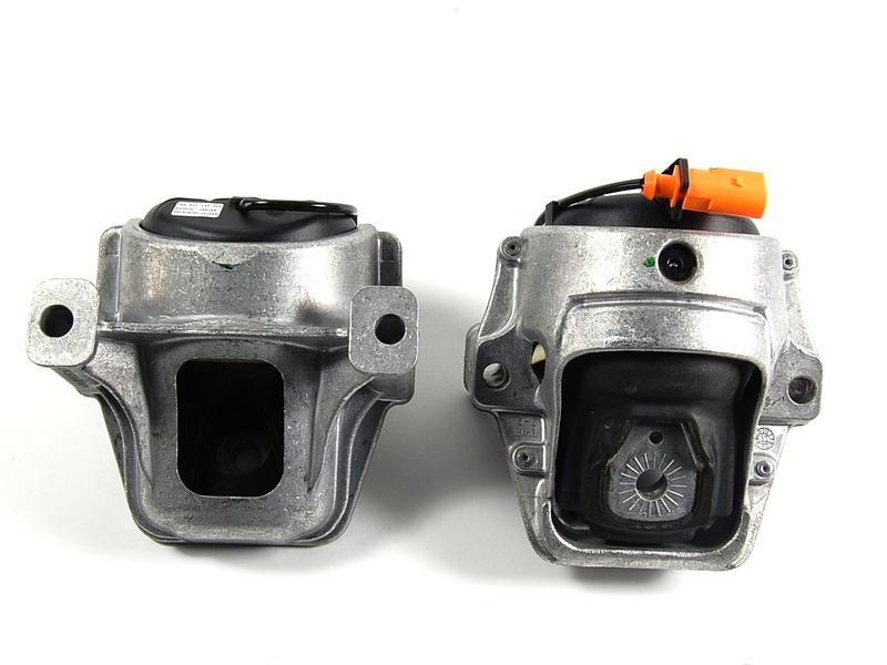 Elektrikli Motor Kulak (Motor Takoz Seti) - Audi A4,A5,Q5