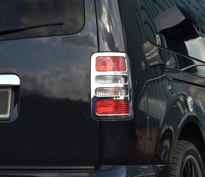 Stop Çerçeve Takımı - Krom - Volkswagen - Caddy - 2003 > 2014