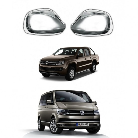 Kapı Ayna Kapağı - Krom - Transporter - T6 - Amarok