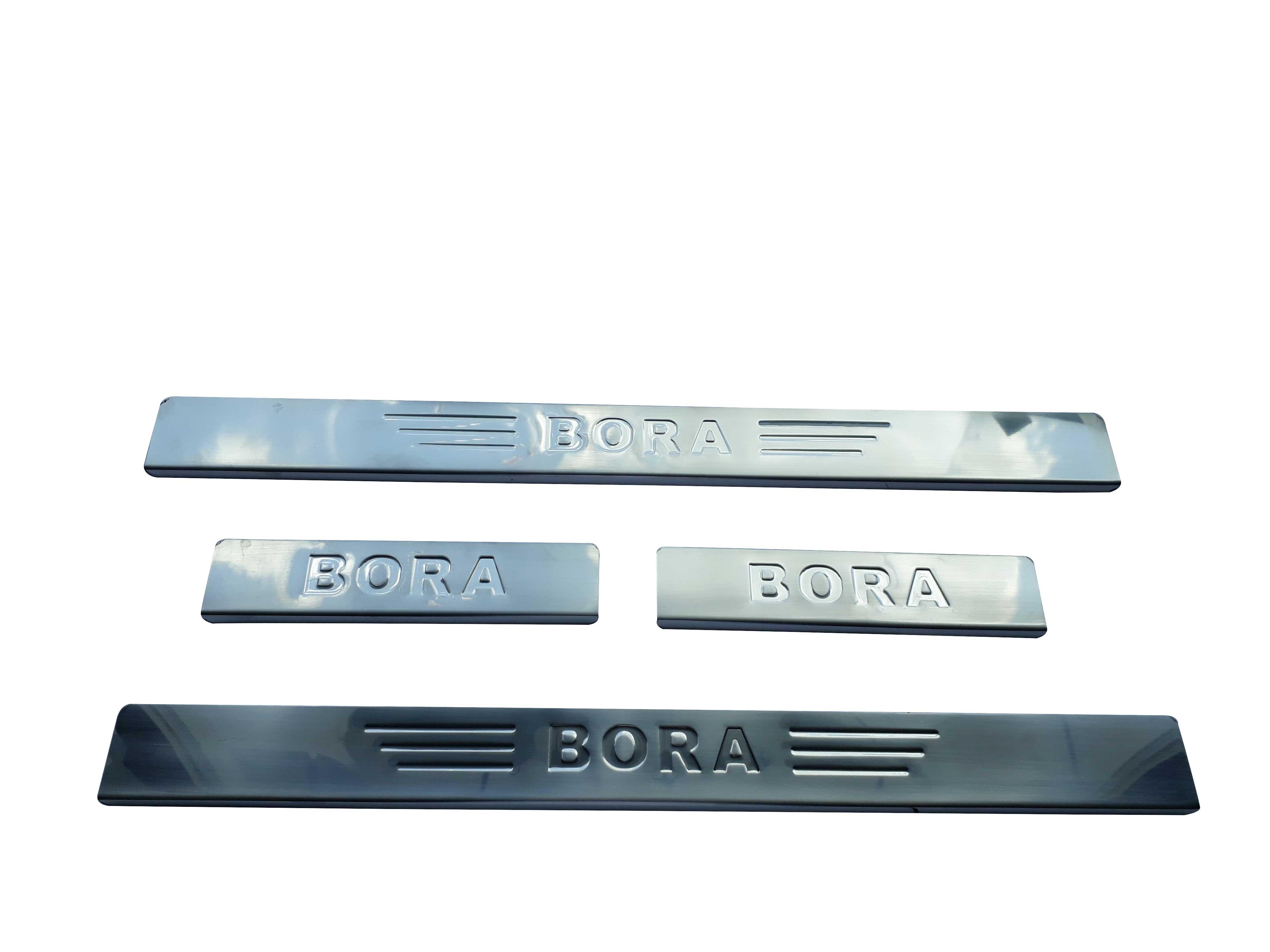 Kapı Eşik Takımı - Krom - Bora
