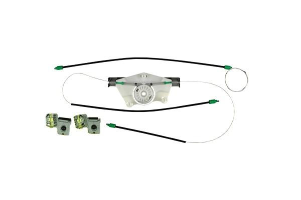 Metal Ayaklı Cam Kriko Teli Ön Sol Set Kapaklı - Golf 4 - Bora