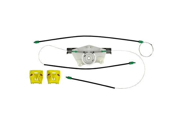 Cam Kriko Teli Kapaklı Sol Set - Golf 4 İki Kapı