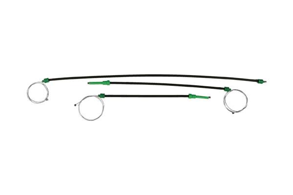 Cam Kriko Teli Ön Sol Sağ - Yeni Model Polo İki Kapı