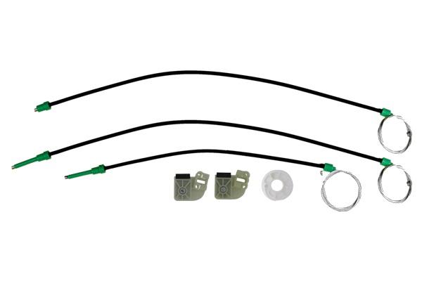 Cam Kriko Teli Ön Sol Set Bütün Ayaklı - Transporter T5