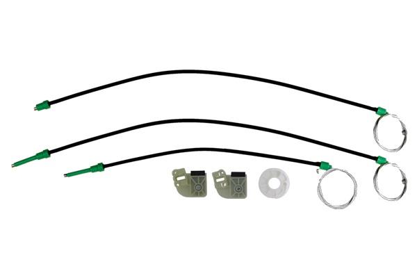 Cam Kriko Teli Ön Sağ Set Bütün Ayaklı - Transporter T5