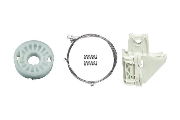 Cam Kriko Plastiği Arka Sol Set - Skoda Octavia 5