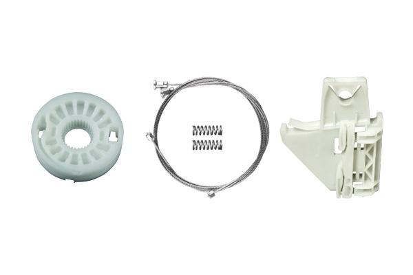 Cam Kriko Plastiği Arka Sağ Set - Skoda Octavia 5