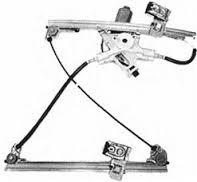 Motorlu Cam Mekanizması - Sağ Ön - Polo - Caddy - Cordoba