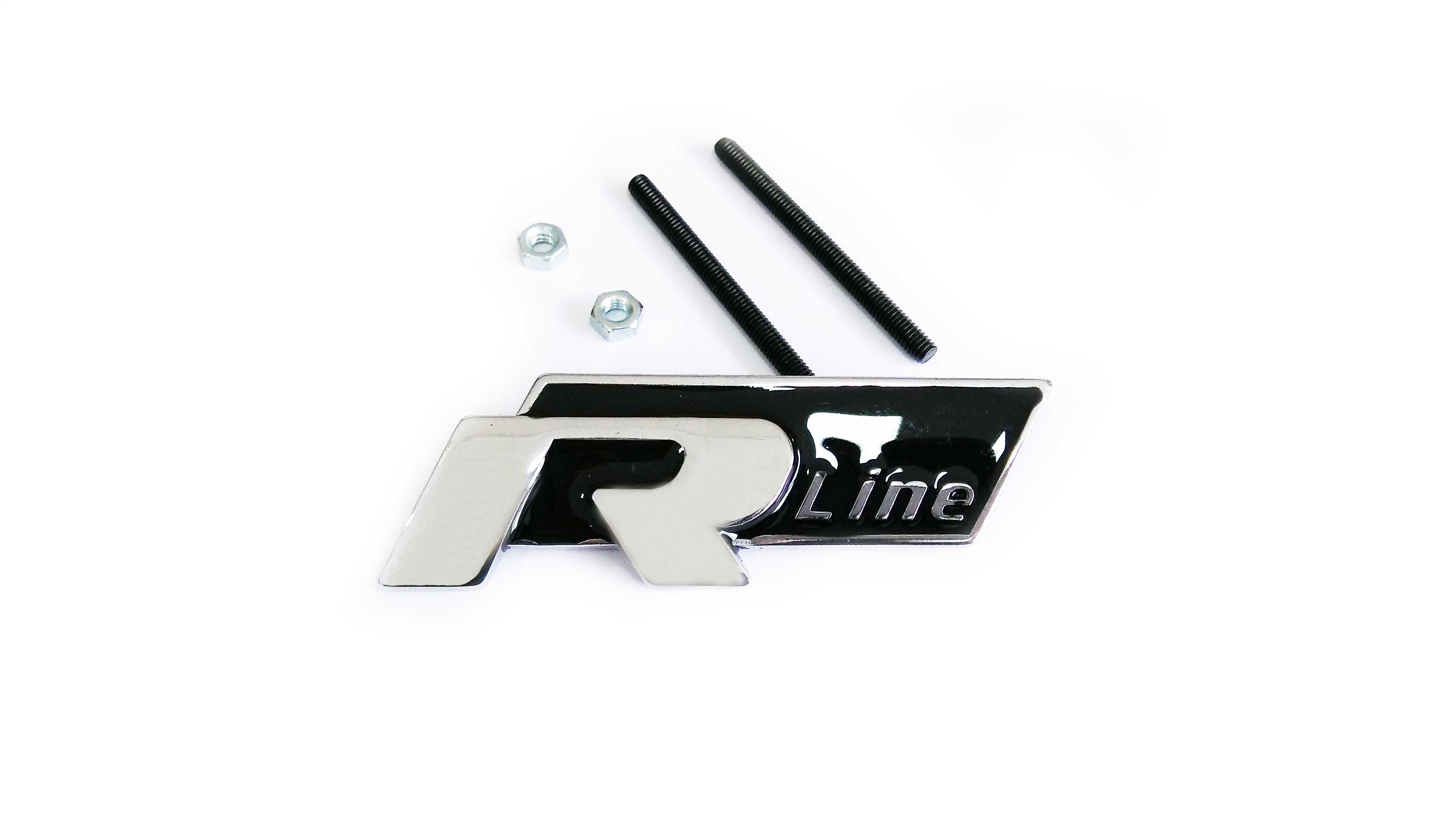 R Line Panjur Arması Siyah - Audi Modelleri