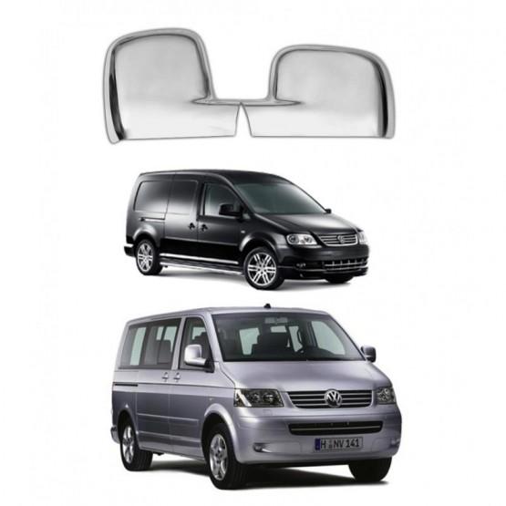 Ayna Kapağı Takım - Krom - Transporter - T5 - Caddy